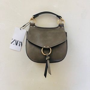 Zara Gray Mini Purse